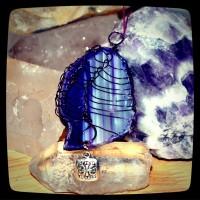purple agate pendant2