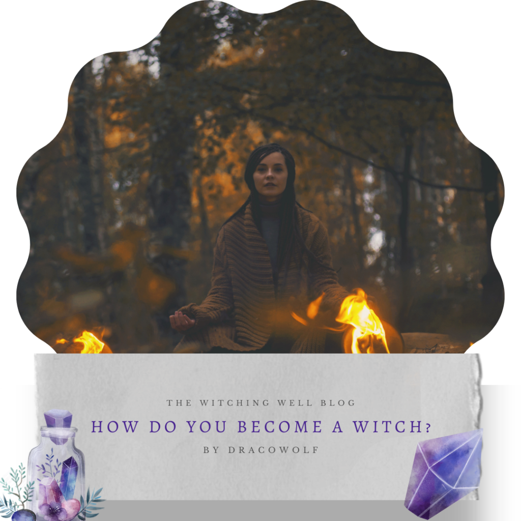 how do you become a witch