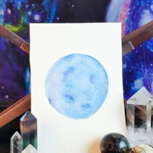 blue moon painting