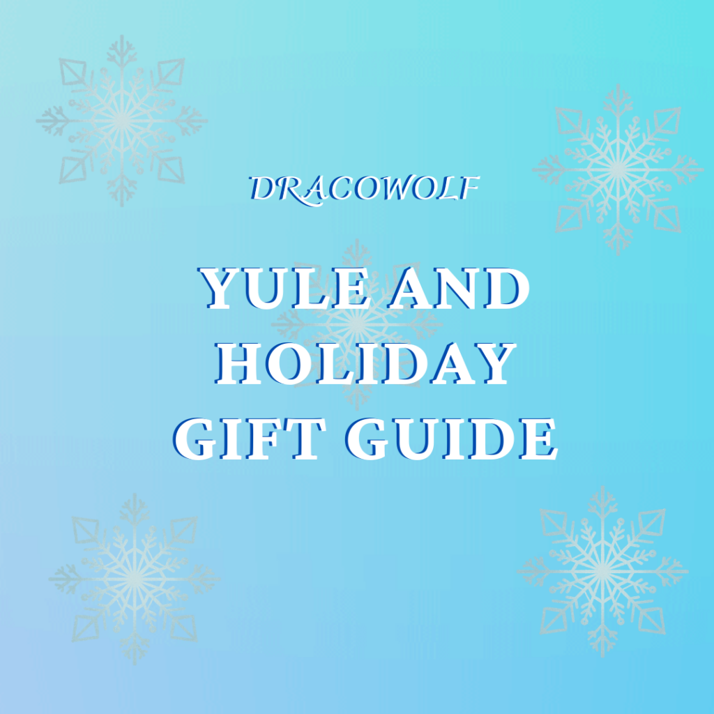 Dracowolf yule and holiday gift guide
