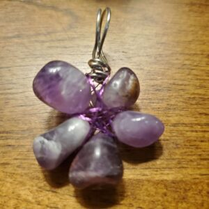 amethyst flower hidden pentacle