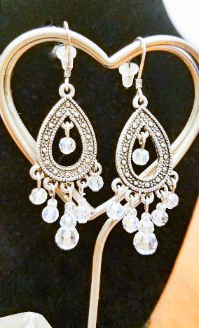 Swarovski Marquisette Oval Earrings