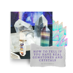 real gemstones and crystals