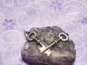 Hekate's Keys earrings,