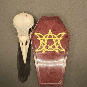 Triple Moon coffin box