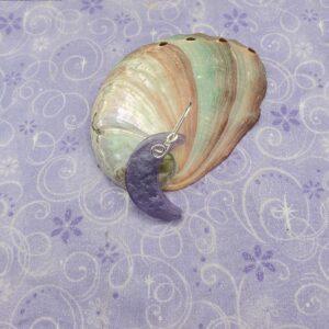 purple moon necklace
