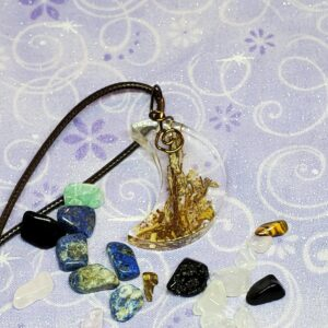 Protection Moon pendant