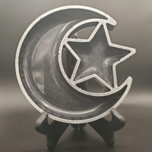 Black moon and star tray