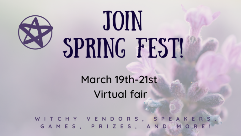 join spring fest with Dracowolf