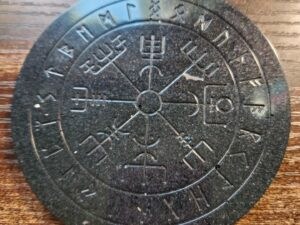 Paint your own Mini Runic Vegvisir board
