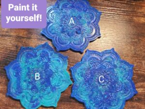 Paint your own Mandala decorations